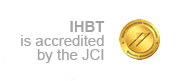 IHBT is accredited by the JCI