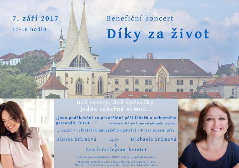 Pozvánka - benefiční koncert