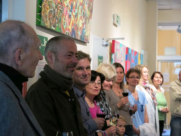 Michal Singer 2014 - vernisáž