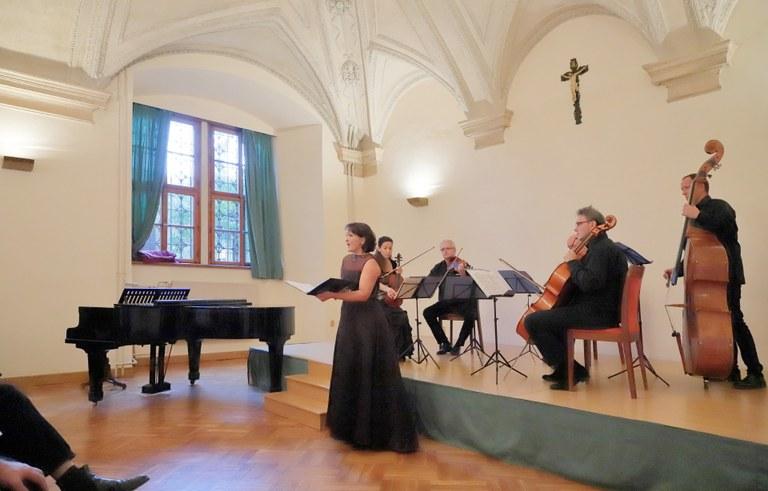 Michaela Šrůmová a Czech Collegium kvintet