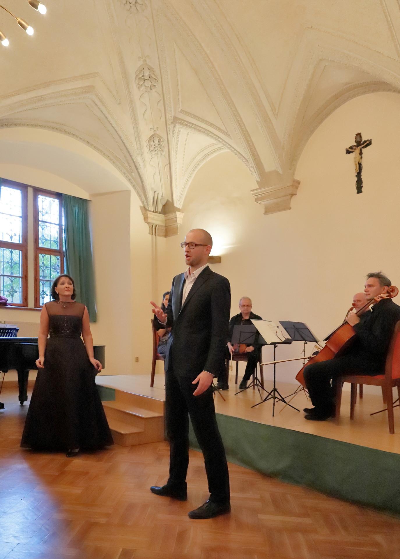 Michaela Šrůmová a Martin Kalivoda